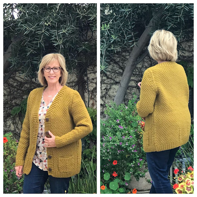 O-Wool Yarn, Paloma Cardigan