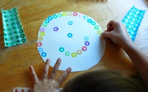 10 collages para hacer con ni os padres - Ninos pintando con las manos ...