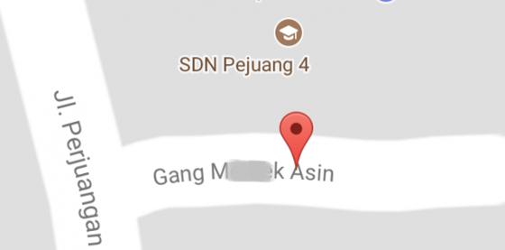 Gang Dinamai Alat Kelamin Wanita di Bekasi Pada Google Maps Hebohkan Netizen