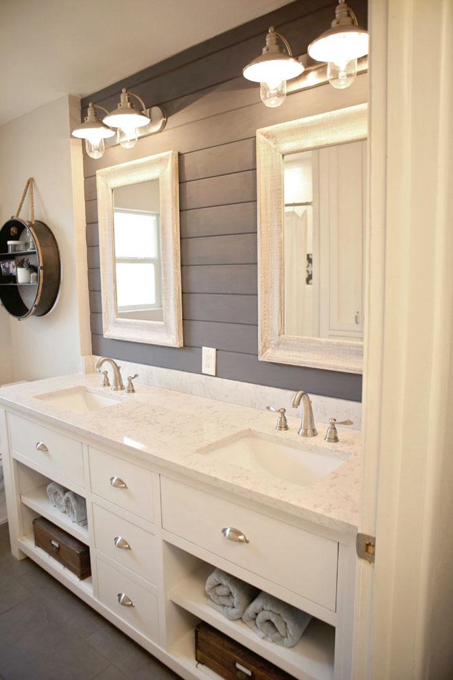 10 Bathrooms That Rock A Shiplap Treatment Remodelando