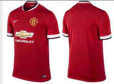 reputable site 7ea02 9c655 Reviews: Jersey Manchester united home dg sponsor baru mereka Chevrolet