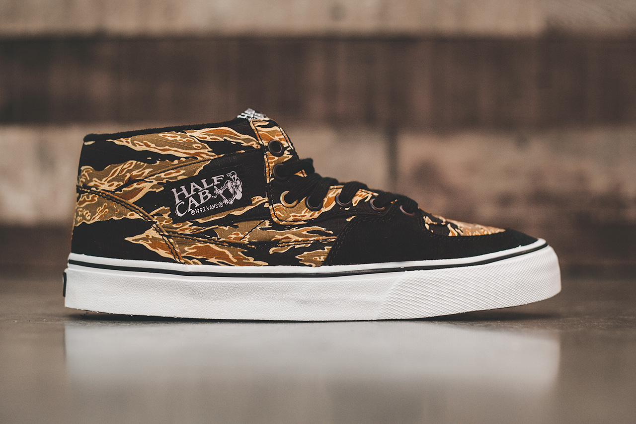 "2c9a393193 Vans 2014 Spring Summer Half Cab ""Tiger Camo"". The Half Cab version —  offered up as a preview at the ongoing Agenda Show Long Beach — arrives as  a single ..."