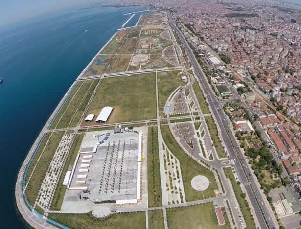 İstanbul Maltepe Sahil Parkı