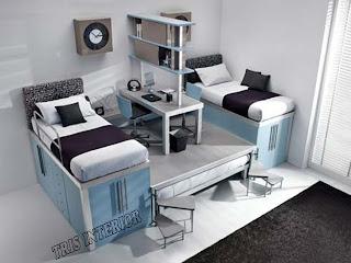 Jasa Pembuatan Setting Interior Kamar Tidur Anak Kids Bed Room