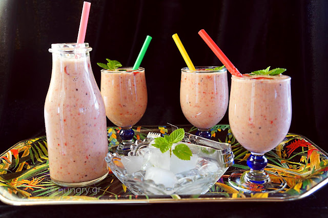 Strawberry & Grapefruit Smoothie - Low Carb