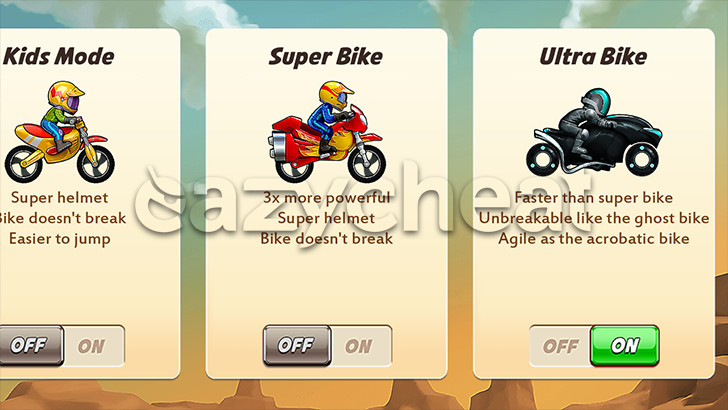 Bike Race Cheats
