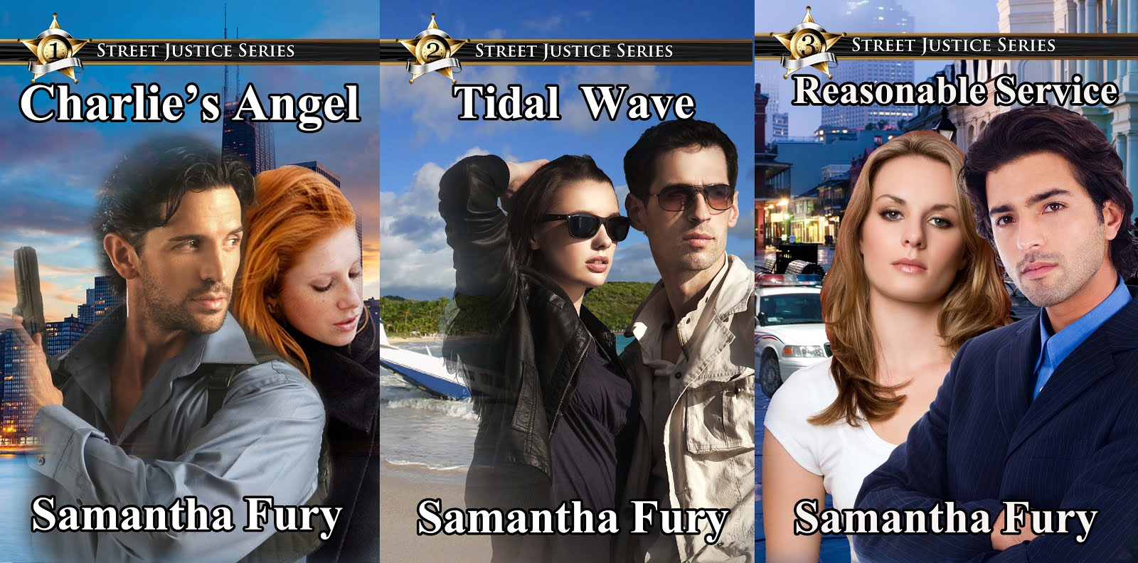 Samantha Fury Books