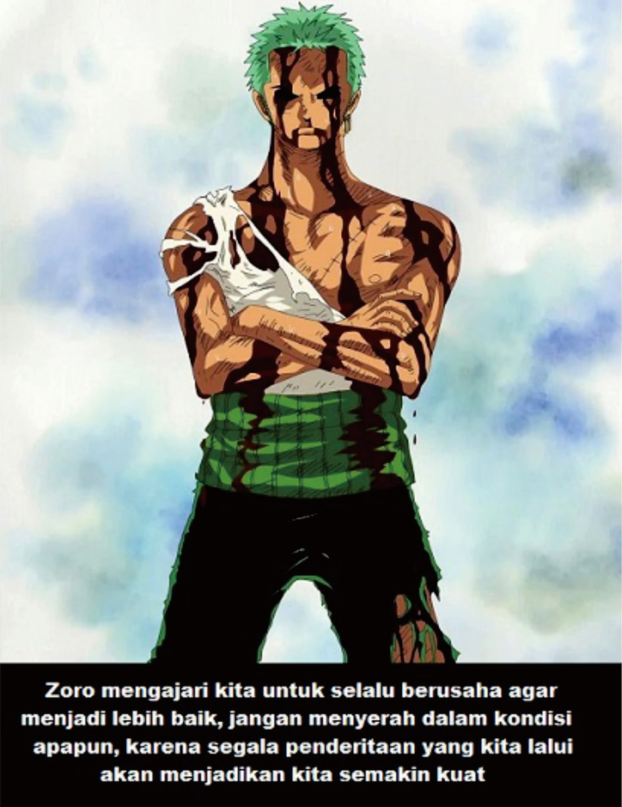 Kata Kata Bijak Roronoa Zoro One Piece