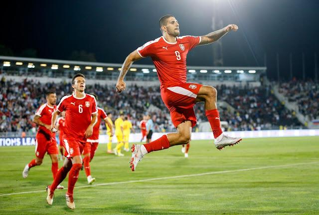 UEFA Nations League : Aleksandar Mitrovic