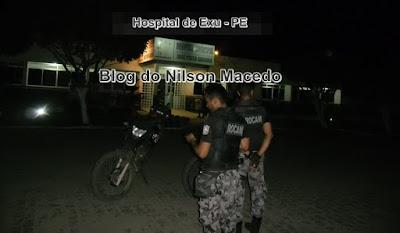 EXU-PE: Homem sofre tentativa de homicídio a bala