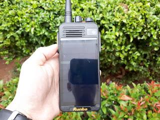 Hape Plus HT Runbo K1 DMR VHF Seken Android 4G LTE RAM 2GB IP67 Certified