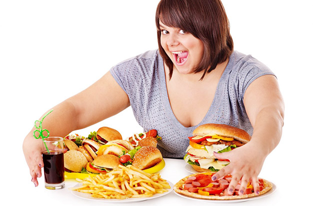 Do make you obese for staying and working beside fast food shops?