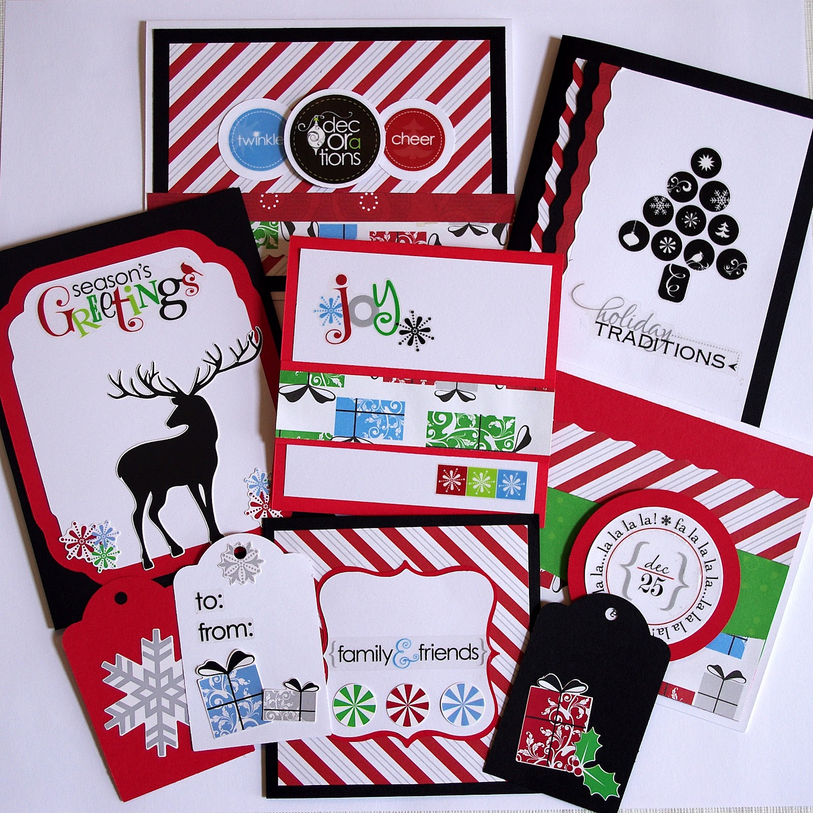 Christmas In July Gift Tags.Christmas In July Cards Organized Creative Mom