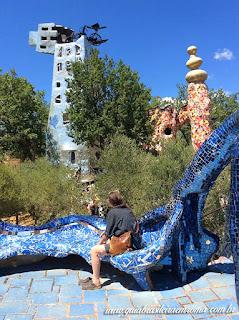 jardim dos taros guia brasileira blogger torre - Jardim do Tarô de Niki de Saint-Phalle