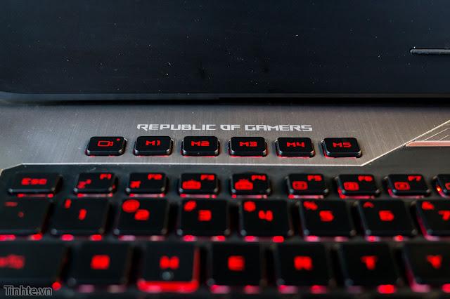 Đánh giá laptop ASUS RoG G752VS