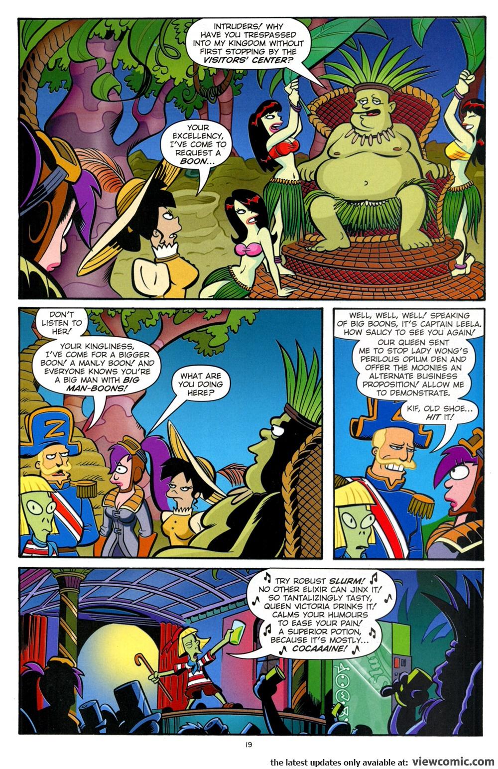 Futurama Comics 057 – Steampunk'd | Viewcomic reading comics