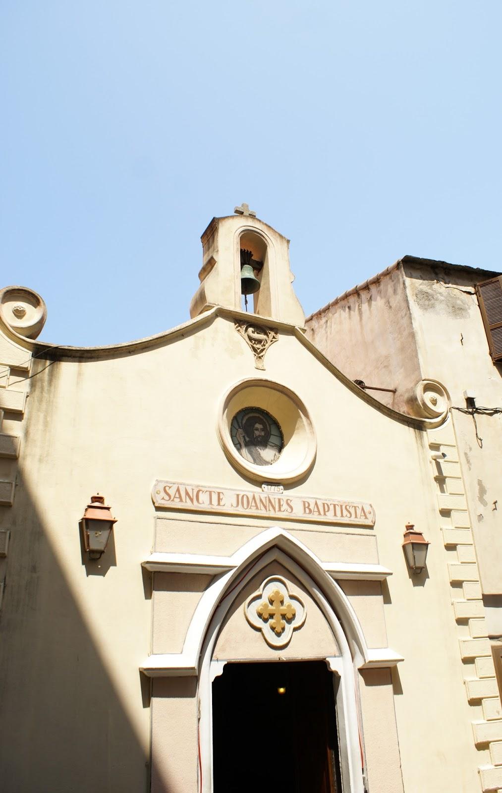 bonifacio corse corsica sancte johannes batista saint jean baptiste