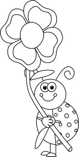 Tranh tô màu con bọ cánh cứng cho bé 5 tuổi