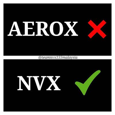 Bukan Aerox tapi NVX