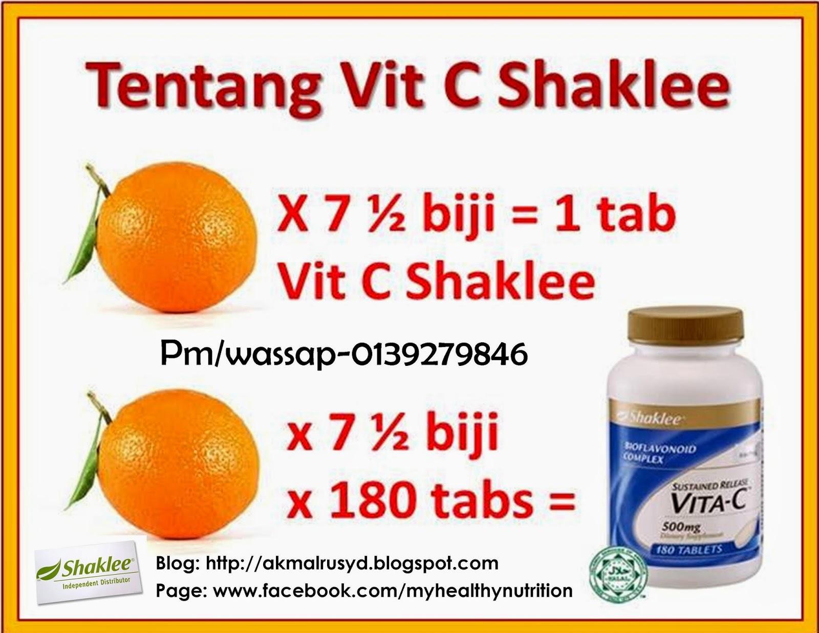 Vitamin C Shaklee