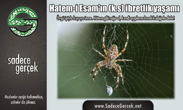 Hatem-i Esam'ın (k.s) ibretlik yaşamı