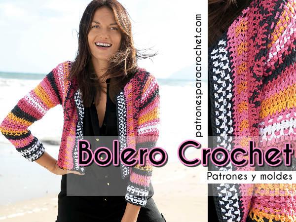 patrones-bolero-crochet-jackard