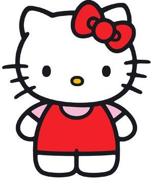 Hello Kitty Cartoon Car Seat Cover Set