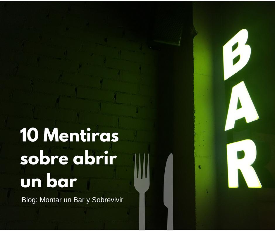 Montar un bar y sobrevivir 08 21 16 for Como abrir un bar