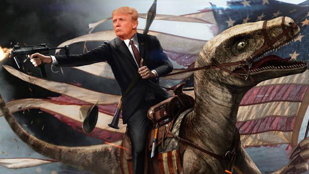 George Washington Velociraptor