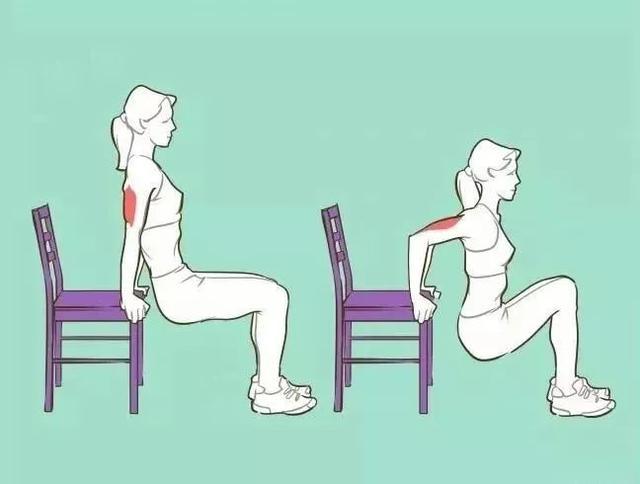手臂粗?常做這6個體式,手臂細了,經絡也通了!(腋下淋巴排毒)