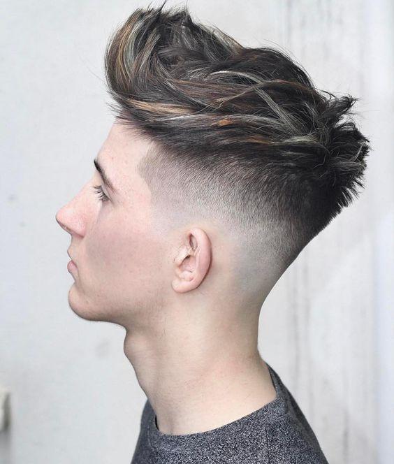 Fancy barber for ginger lady 7