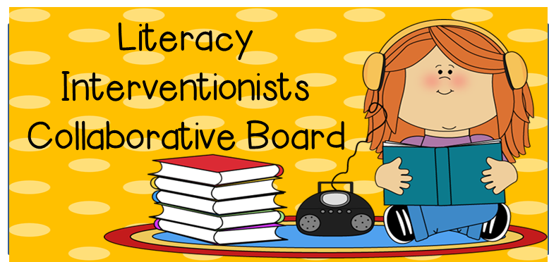 http://www.pinterest.com/readingtutorog/literacy-interventionists-collaborative-board/