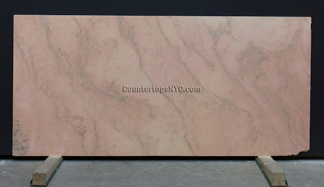 Rosa Salomon Pink Marble Slab NYC 2cm