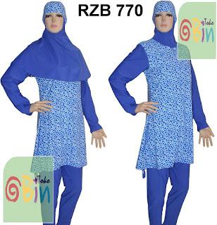 baju renang syari RZB 770