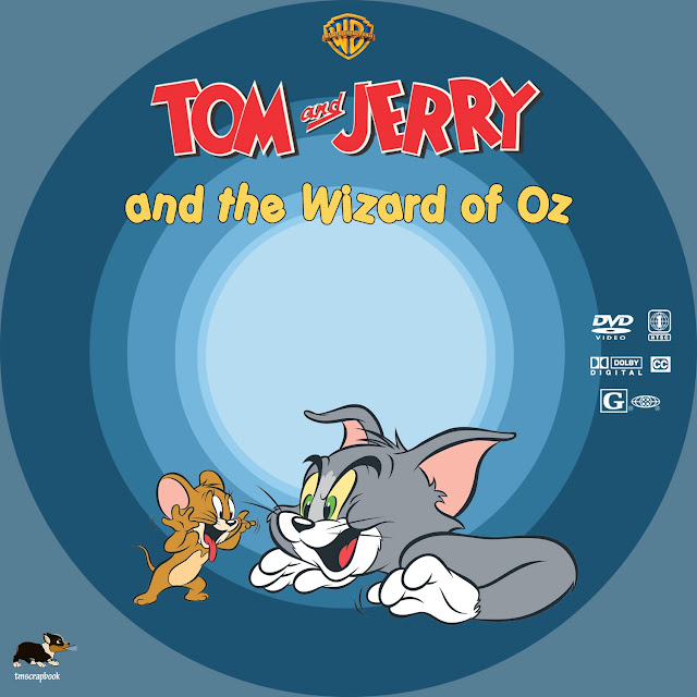 Tom and Jerry and the Wizard of Oz DVD Label
