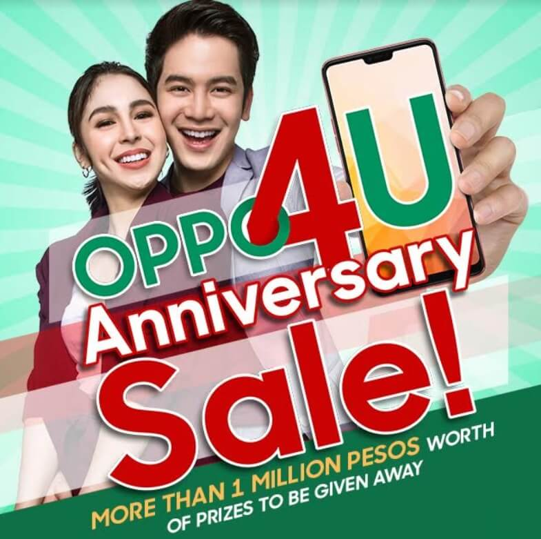 OPPO Announces OPPO4U Anniversary Sale Promo with Lots of Discounts, Freebies, and Prizes