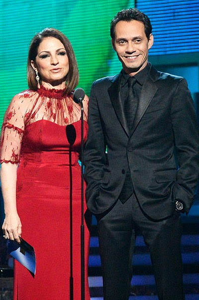 Gloria Estefan and Marc Anthony Grammy Awards 2014