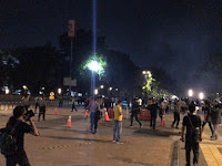Gegana Masih Cek Lokasi Sumber Suara Ledakan di Parkit Senayan