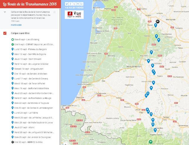 La Route de la Transhumance 2018