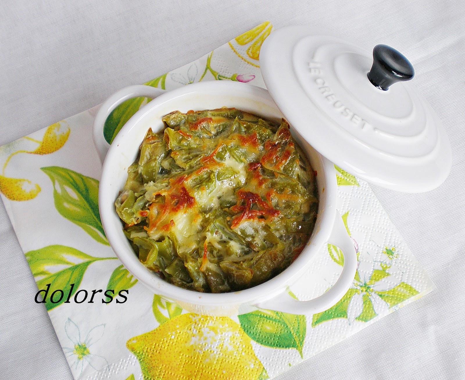 Blog de cuina de la dolorss jud as verdes gratinadas - Judias verdes en olla express ...