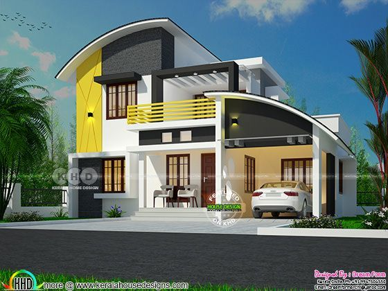 1654 square feet 4 bedroom contemporary style home