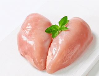 Lườn gà làm món khô gà xé cay giòn sợi ngon