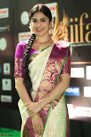 Adah Sharma looks super cute in Saree at IIFA Utsavam Awards 014.JPG