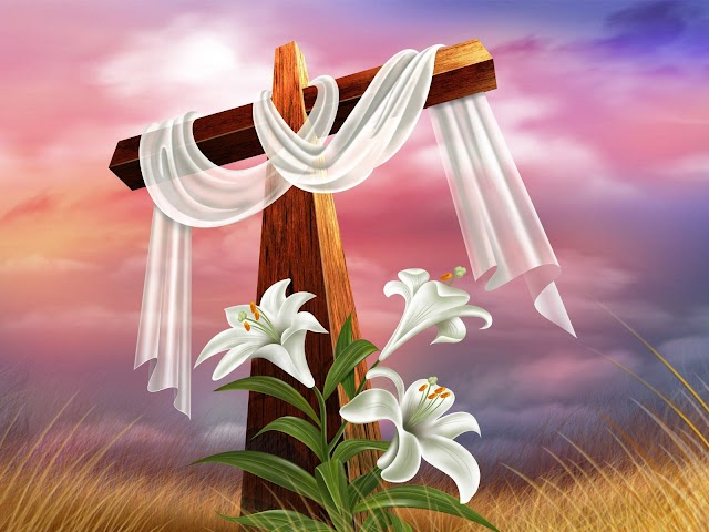 HD Good Friday Cross Desktop Wallpaper