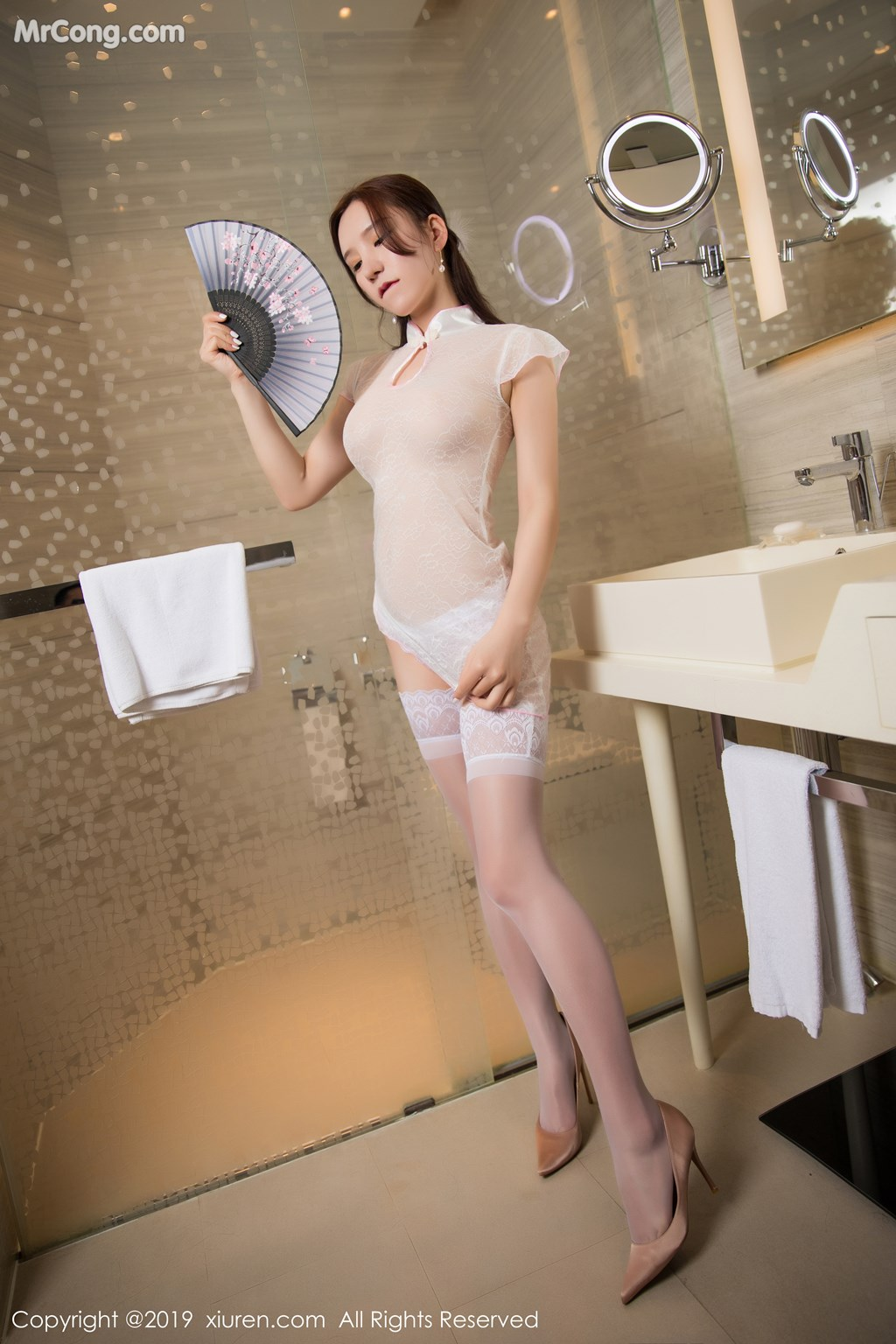 Image XIUREN-No.1446-Zhou-Yuxi-Sandy-MrCong.com-006 in post XIUREN No.1446: Zhou Yuxi (周于希Sandy) (67 ảnh)