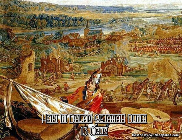 Battle of Blenheim Tapestry