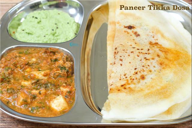 Paneer Tikka Dosa | Mumbai Street Food | How to make Paneer Masala Dosa
