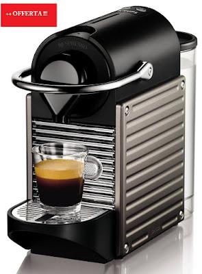 Krups Pixie Nespresso Electric Titan