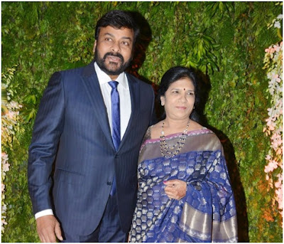Chiranjeevi and his wife