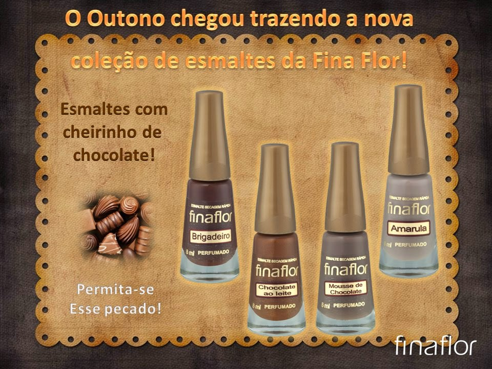 Esmalte Fina Flor :: Brigadeiro - Resenha